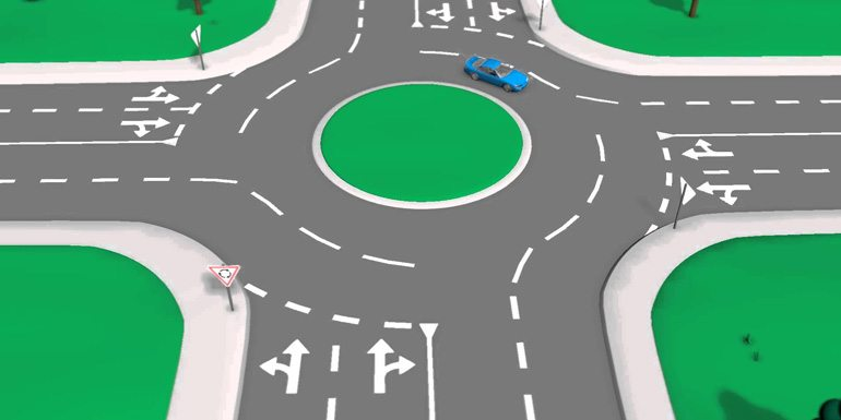 Roundabout: When Should I Start Indicating To Show I Am Taking An Exit? 1