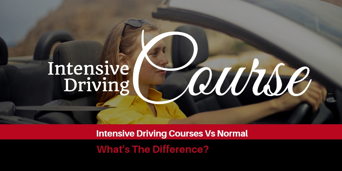 Intensive Driving Courses Vs Normal