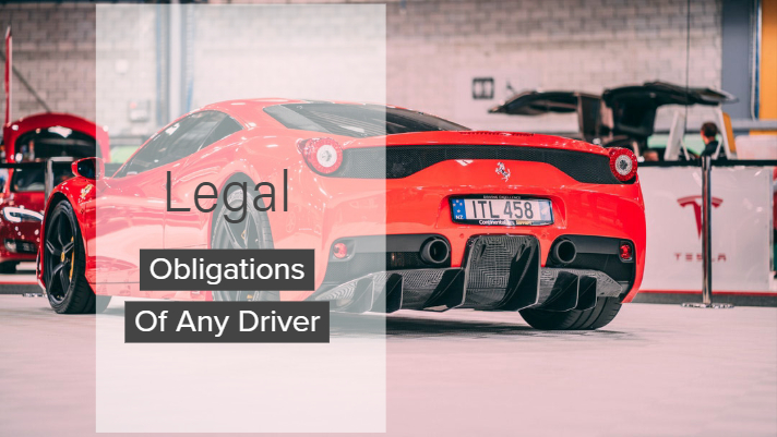 Legal Obligations Of Any Driver