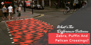 What's The Difference Between Zebra, Puffin And Pelican Crossings?