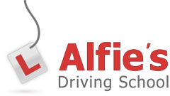 Alfies Driving School Logo